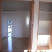 2F 主寝室 収納