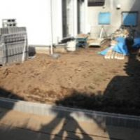 【施工前】南側庭