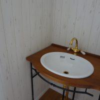 北欧風アンティーク洗面台
