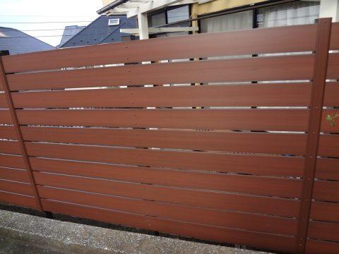 港南区 人工木材・樹脂木材フェンスサムネイル