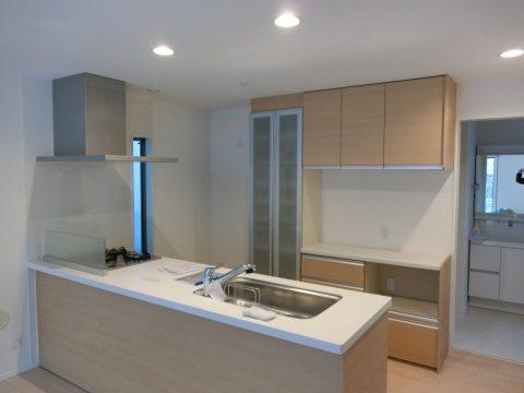キッチン食器棚(カップボード)リフォーム 磯子区サムネイル
