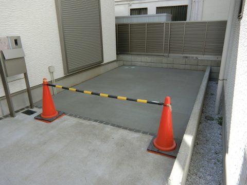 港南区 駐車場コンクリート土間工事サムネイル