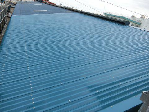 屋根カバー工事 板金屋根葺き替えサムネイル